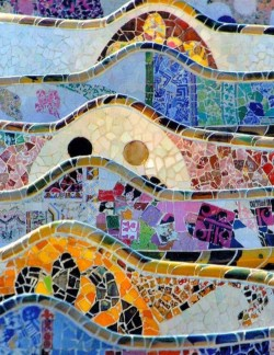 Parc Guell mosalic tile