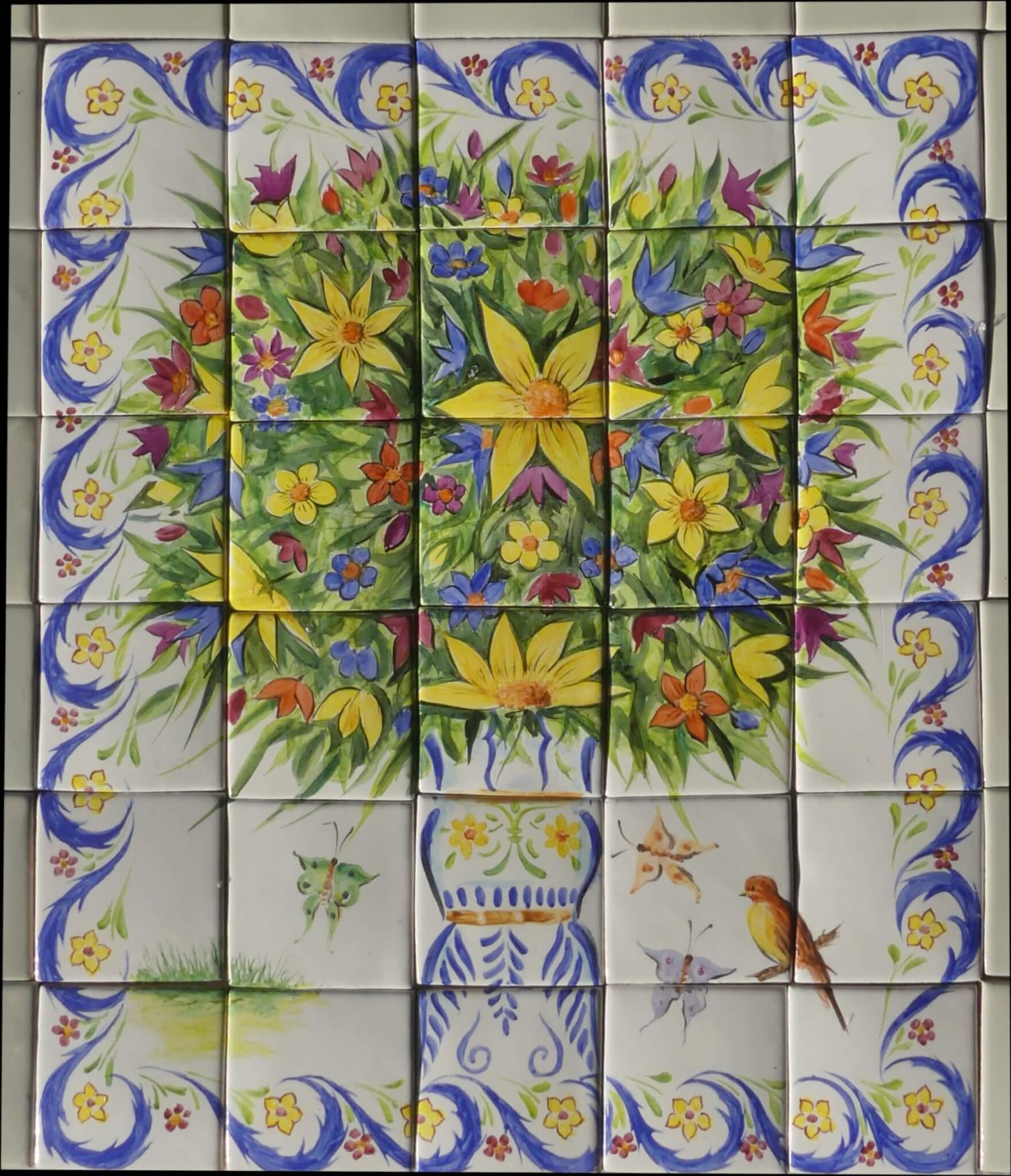 Mural – Flor