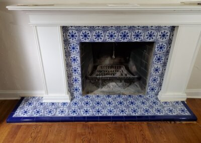 Classic 8 Porcelain Fireplace